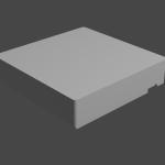 第11回:実寸モデリング~ローテーブルをモデリングしよう~