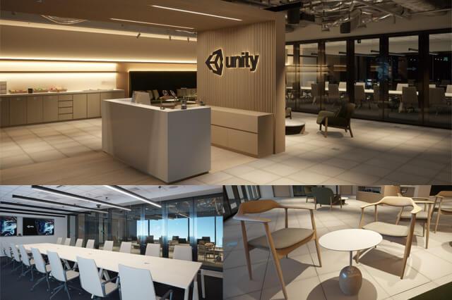 フォトリアルCGでオフィスを完全再現! インタラクティブデモ「Unity Japan Officeプロジェクト」