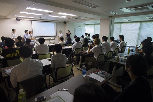 東京のCG業界就職を目指す学生に向けたリクルートイベント「クリ探 in 仙台」レポート