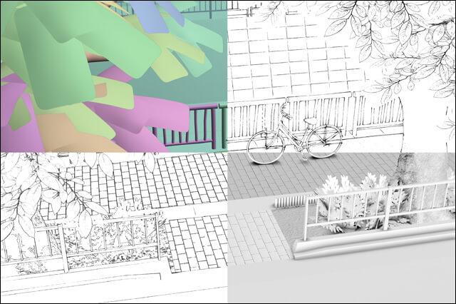 3DCGで背景を効率的に描こう!  漫画制作で使える3DCGの便利TIPS
