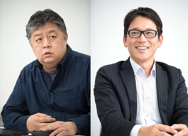宋 明信(ウイニー・ビレッジ)、金子 覚(マウスコンピューター)