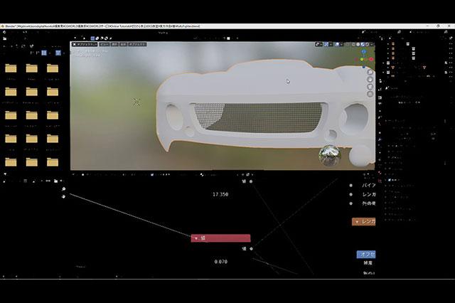 [お知らせ]第71回:クルマモデリング(24)~ディティールアップ(4)~が配信開始(BlenderでCGをはじめよう!ゼロから学ぶ3DCG教室)