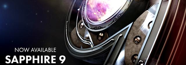 250種におよぶエフェクト&トランジションを備えた定番プラグイン「Sapphire 9」リリース(GenArts)