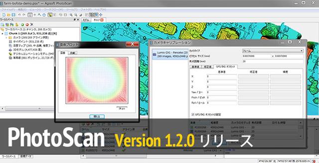 写真による3Dスキャニングが可能な「Agisoft PhotoScan v1.2.0」安定版がリリース。日本語メニューにも対応(Agisoft)