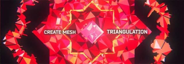 メッシュを生成して自在なアニメーションを実現するAfter Effectsスクリプト「Origami」発売(Nik Ska/aescripts + aeplugins)