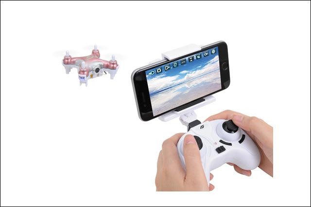スマホで直感的に操縦できる世界最小クラスのFPVドローン「PXY Wi-Fi」発売、空撮映像をスマホにLIVEで表示~(ジーフォース)