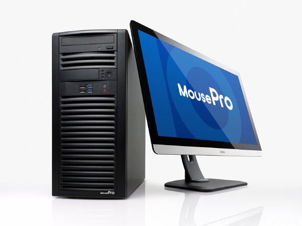 MousePro、4K/3Dコンテンツ制作・3DCAD向け最新のQuadro搭載ワークステーション発売(マウスコンピューター)