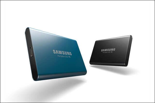USB3.1 Gen2対応、最大容量2TBの外付けストレージ「Samsung Portable SSD T5」4機種の日本国内発売を発表(日本サムスン)