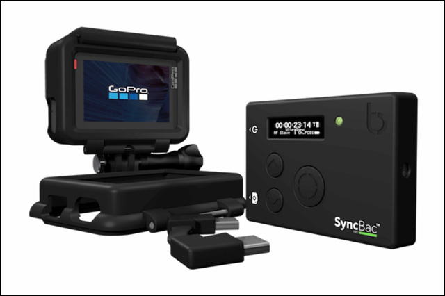 GoPro HERO6に対応した新しいタイムコード同期ソリューション「SyncBac PRO」を発表(Timecode Systems)