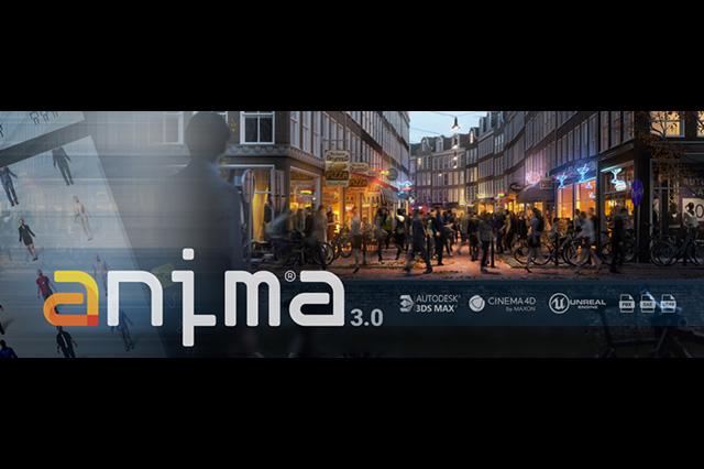 Unreal Engineへのインポートに対応、群集キャラクターアニメーションソフト「Anima 3」販売開始(AXYZ Design)