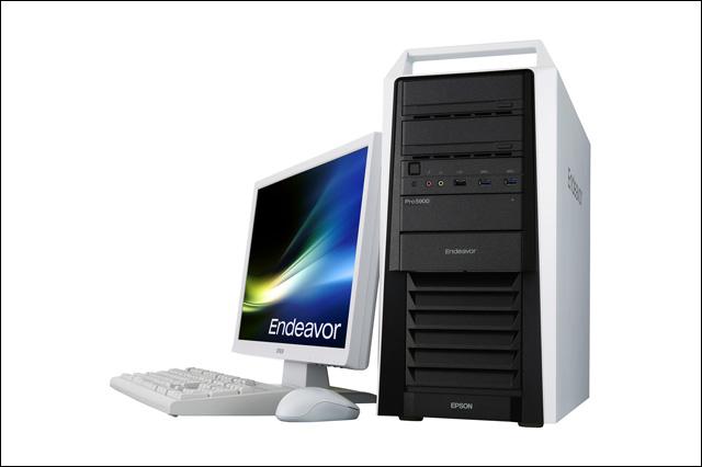 第8世代インテルCoreプロセッサー搭載のミドルタワーPC「Endeavor Pro5900」が新登場(エプソンダイレクト)