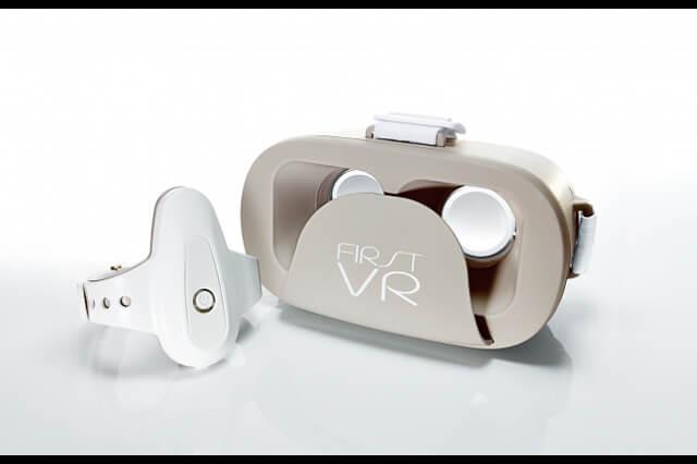 最新のセンサ技術が搭載されたコントローラで遊べるVRデバイス「FirstVR」家電量販店、オンラインストアにて販売開始(H2L)