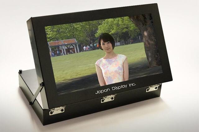 17型ライトフィールドディスプレイに動画再生機能を追加し3D動画再生を実現(ジャパンディスプレイ、NHK メディアテクノロジー)