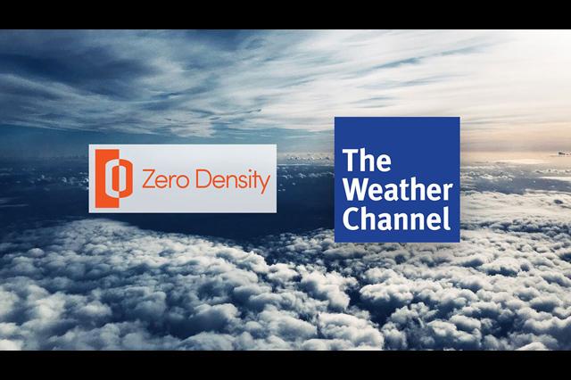 Weather Channel Television Network、MRコンテンツ向けにZero Densityのバーチャルスタジオ技術を採用(アスク)