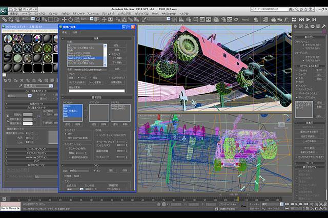 日本アニメCGの新たな原動力 Autodesk 3ds Max 2011×PSOFT Pencil+ 3(第2回)