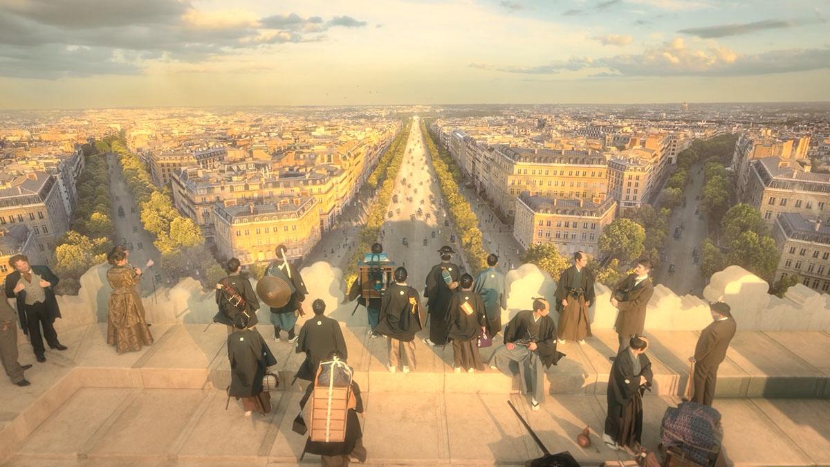 コロナ禍で実現したパリと日本のリモートによるVFX制作、大河ドラマ『青天を衝け』
